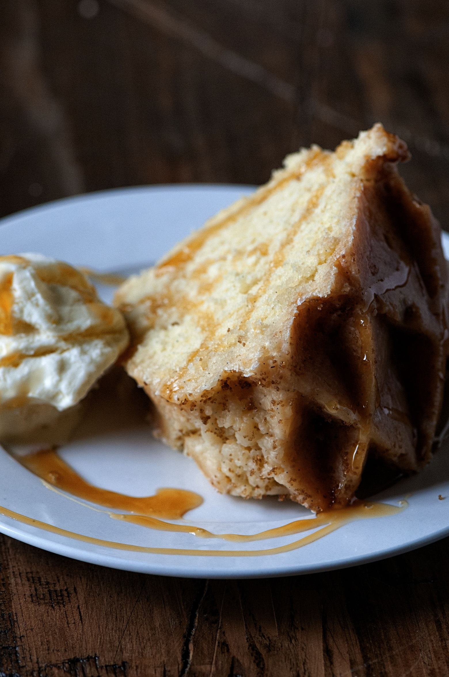 Vanilla Cognac Buttermilk Pound Cake Recipe