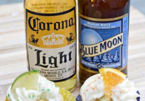 Blue Moon Cupcake Recipe - Football Party Snack