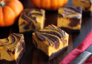 Bourbon Pumpkin Cheesecake Brownie Recipe