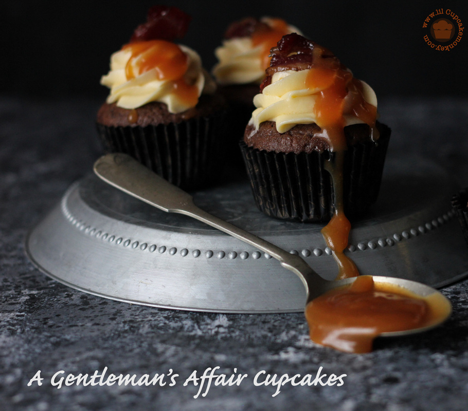 Double Chocolate Cupcakes with Cognac Buttercream Recipe