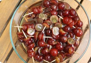 Drunken Grapes - Awesome party snack