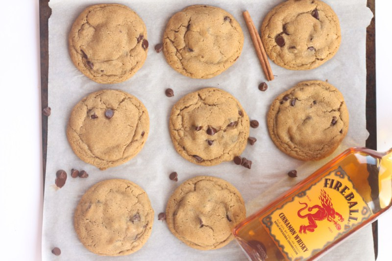 Fireball Chocolate Chip Cookie Recipe