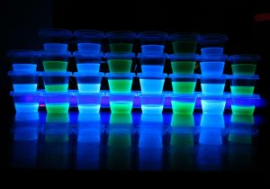 Glow in the Dark Jello Shots Recipe