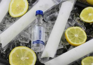 Frozen Lemonade Vodka Popsicle Recipe