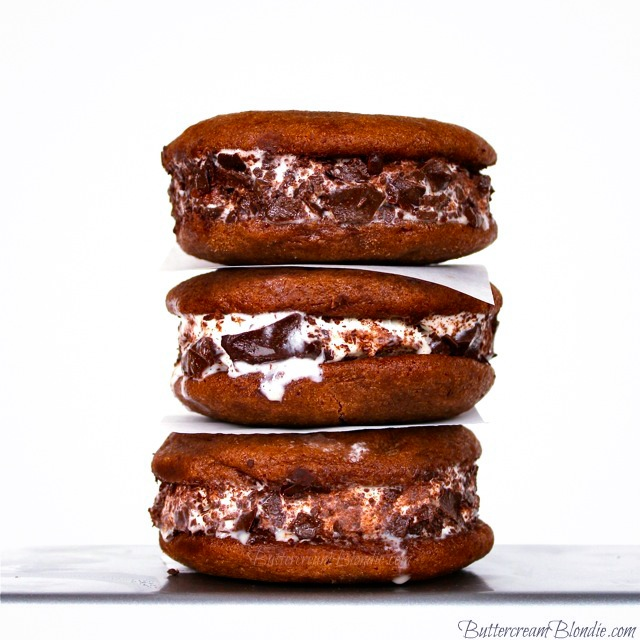 Nutella Frangelico Ice cream Sandwich Recipe