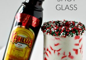 Peppermint Candy Shot Glass Recipe