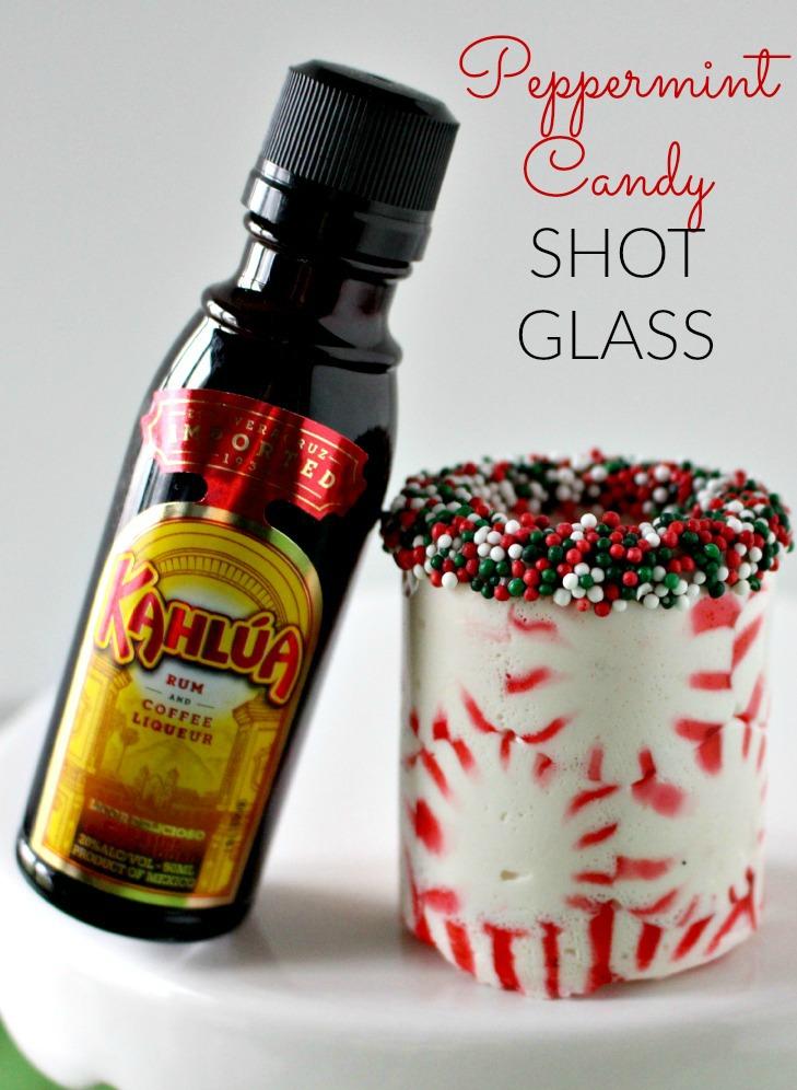 Peppermint Candy Shot Glass Recipe
