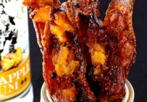 Pineapple Rum Bacon - Candied Bacon Recipe