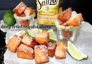 Fried Tequila Shots - Tequila Infused Cake Recipe