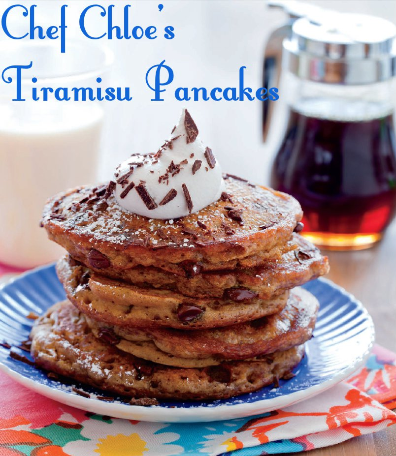 Tiramisu Pancakes with Rum