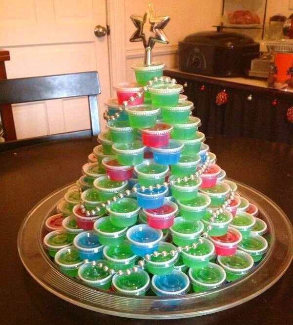 Jello Shot Christmas Tree Recipe