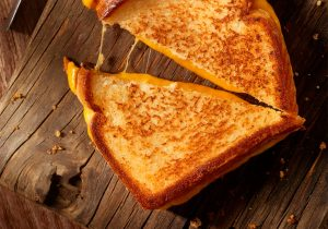 Beer Soaked Grilled Cheese Recipe