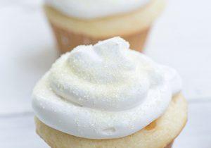 Boozy Eggnog Cupcakes Recipe