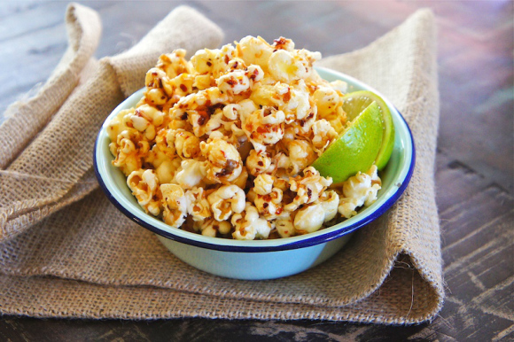 Chili Lime Tequila Popcorn Recipe