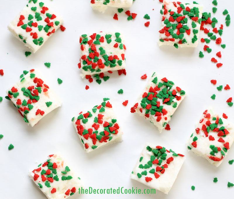 Drunk Santa Fudge Recipe