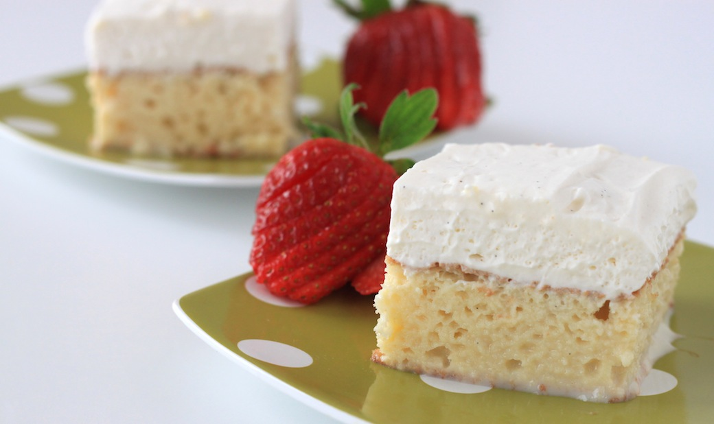 RumChata Tres Leches Cake Recipe