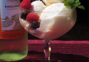 White Wine Ice Cream Recipe