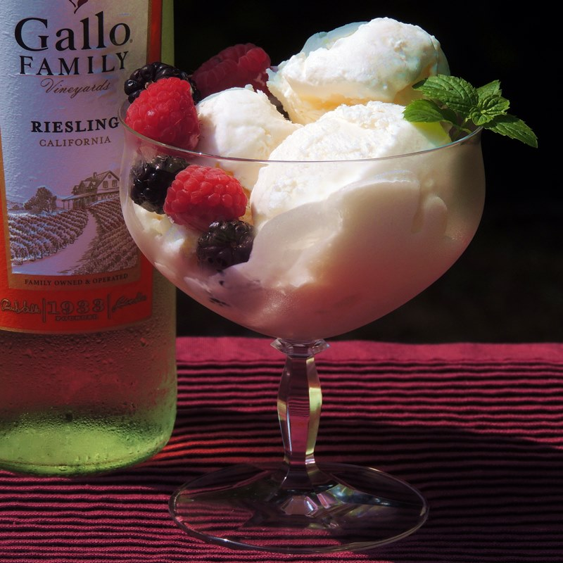 White Wine Ice Cream Recipe