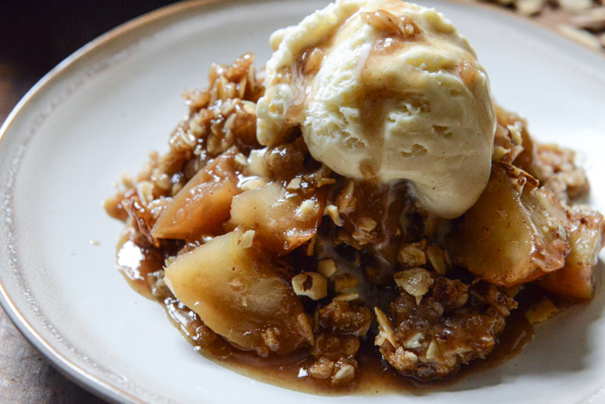 Amaretto Apple Crisp Recipe