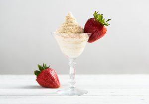 Strawberries and Brandy Alexander Cream Recipe