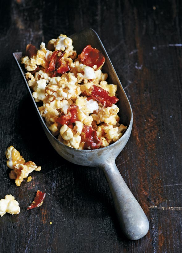 Bacon Bourbon Butterscotch Popcorn Recipe