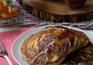 Banana Bourbon Pancake Recipe