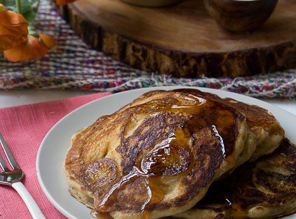 Banana Bourbon Pancake Recipe