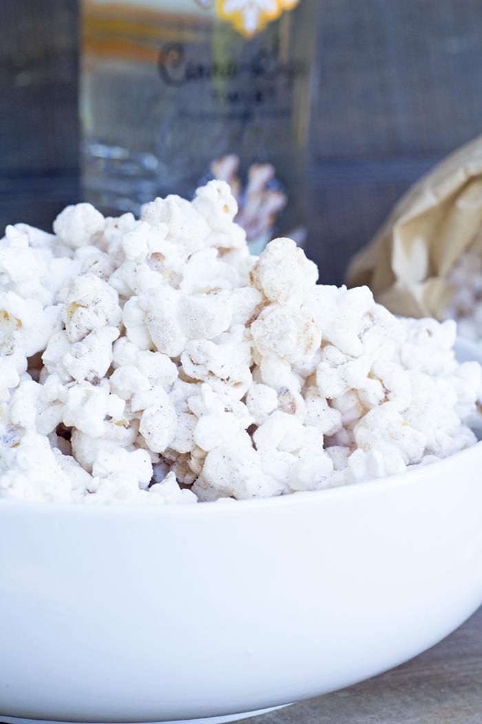 Boozy Churro Popcorn Recipe