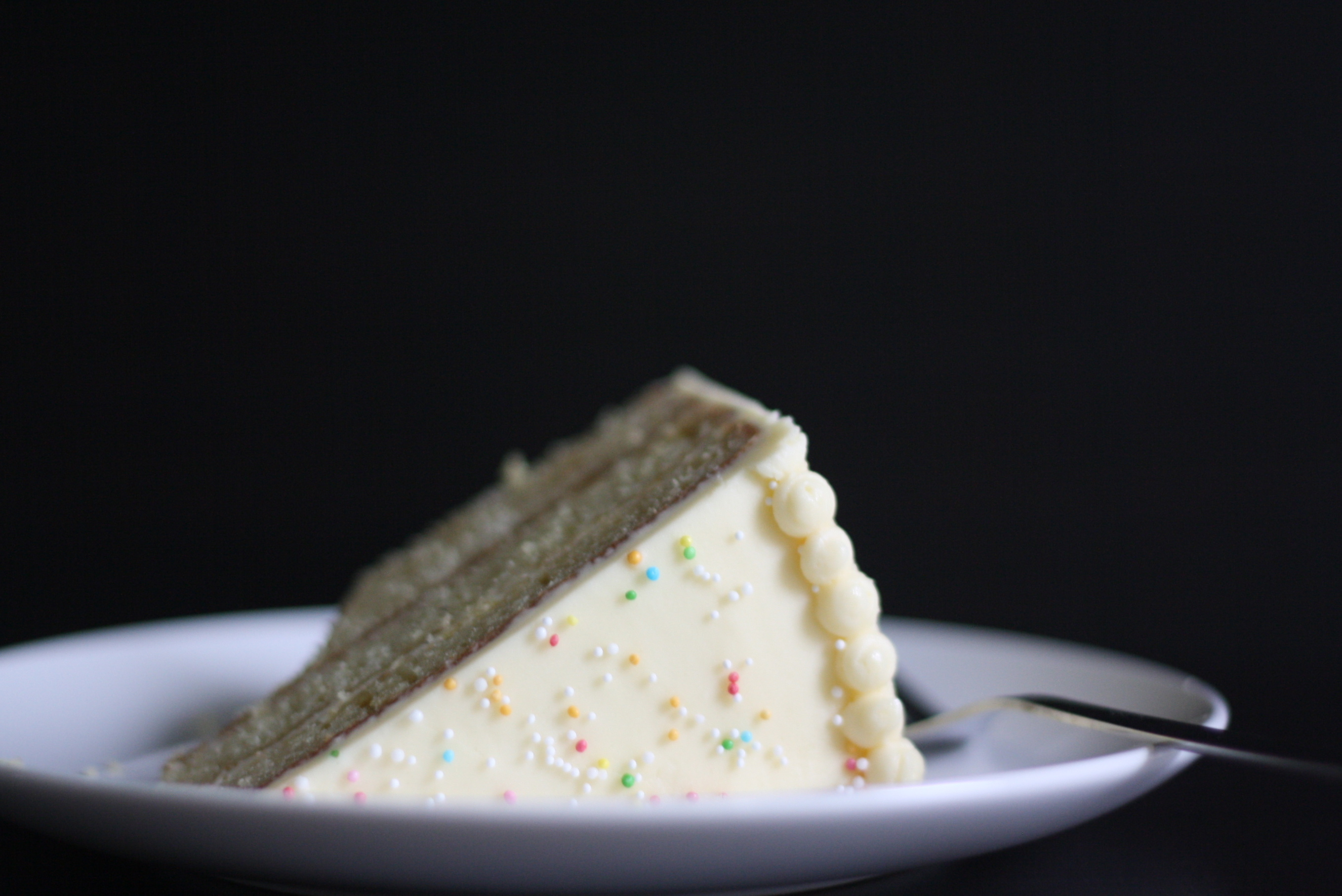 Brown Butter Layer Cake with Bourbon Buttercream