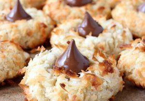 Coconut Rum Cookies Recipe