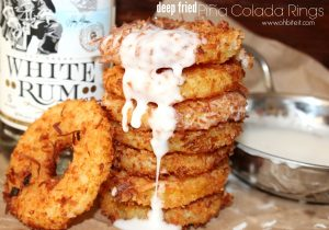 Deep Fried Pina Clada Rings Recipe