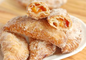 Fried Tequila Peach Hand Pies Recipe