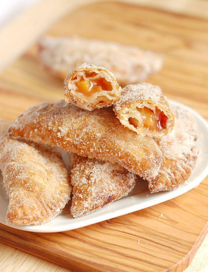 Fried Tequila Peach Hand Pies Recipe