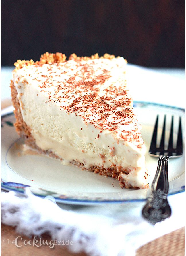 Frozen Brandy Alexander Pie Recipe