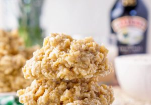 Irish Cream No Bake Cookie Recipe
