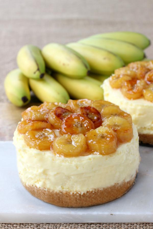 No Bake Banana Rum Cheesecake Recipe