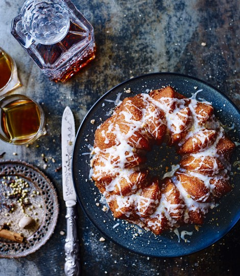 Spiced Hot Toddy Cake Recipe