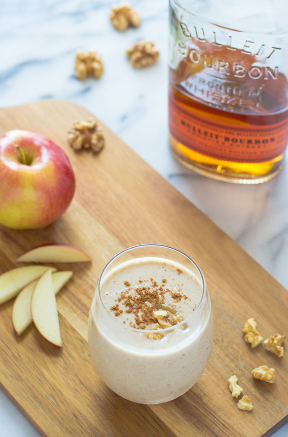 Boozy Apple Pie Smoothies Recipe