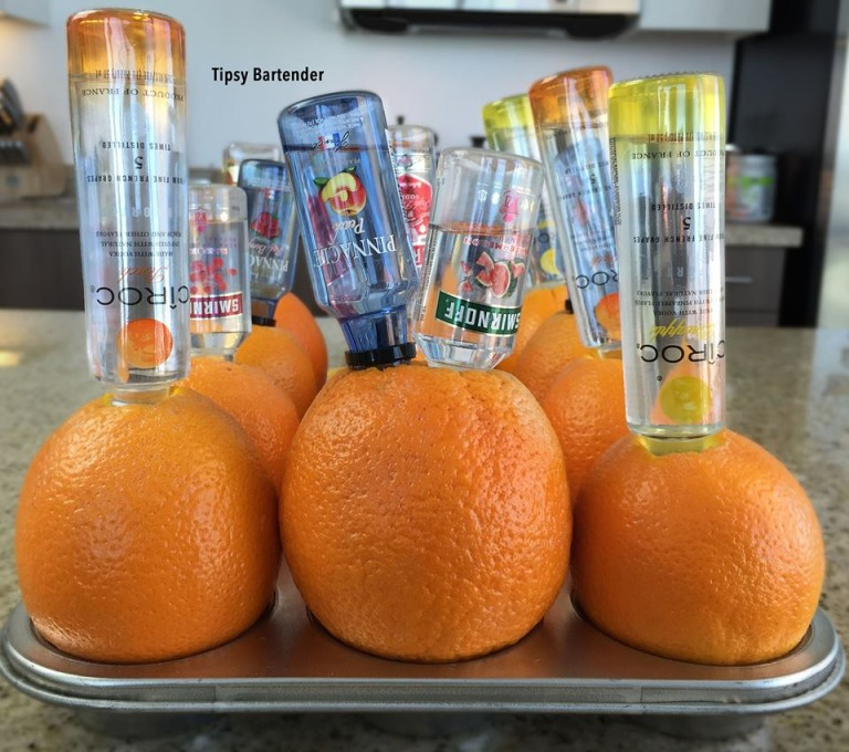 Drunken Oranges Recipe