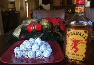 Fireball Balls - No Bake Cookie Recipe