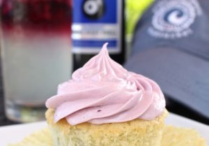 Boozy Lemonade Blueberry Cupcakes Recipe