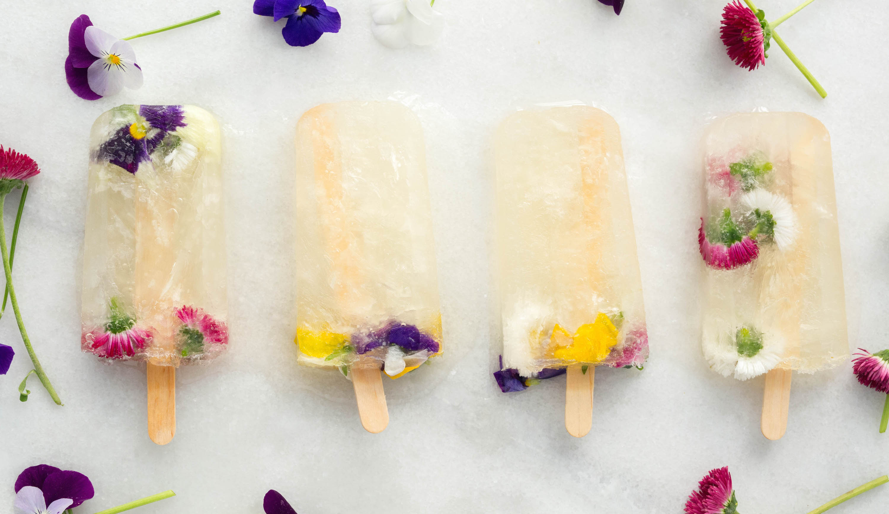 Champagne Popsicles with St. Germain Liqueur Recipe
