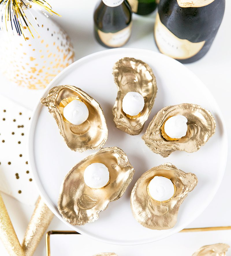 Champagne Truffles on the Half Shell Recipe