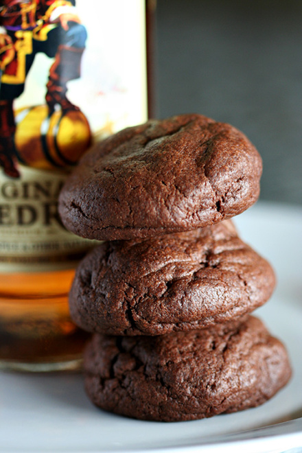 Chocolate Rum Cookie Recipe
