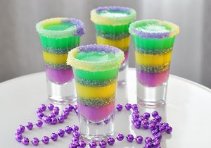 King Cake Jello Shot Recipe