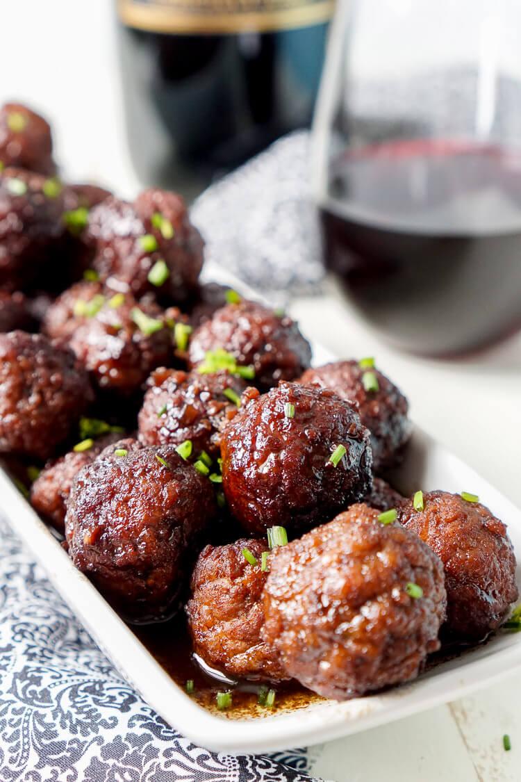Merlot Meatballs