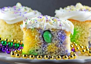 Mini Boozy King Cake Recipe
