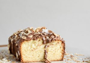 Spiked Almond Joy Poundcake Recipe