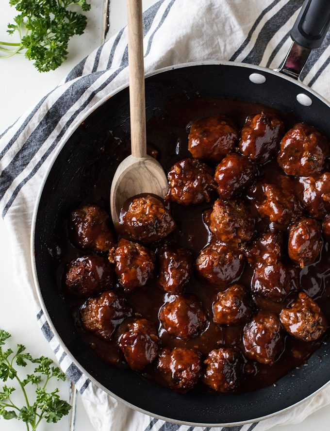 Bacon Bourbon Meatball Recipe