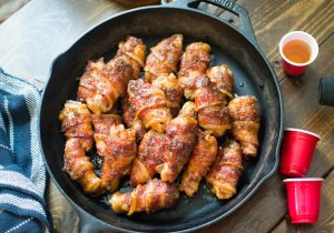 Bacon Whiskey Wings Recipe